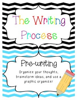 The Writing Process - Chevron Theme
