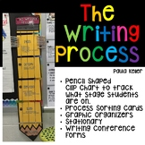 The Writing Process:  Clip Chart, Organizers, Stationary, Forms and More!