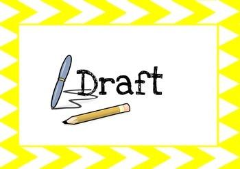 The Writing Process Display (MODERN)