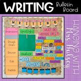 The Writing Process: Editable Bulletin Board