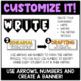 The Writing Process Interactive Bulletin Board