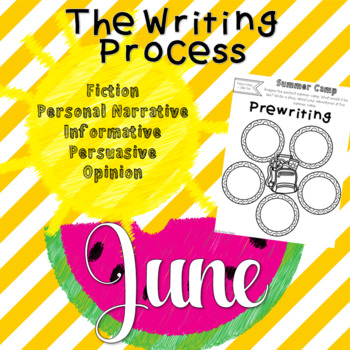 The Writing Process - June Prompts