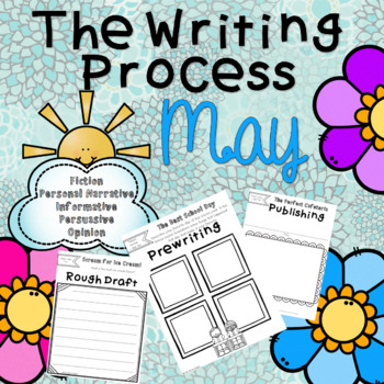 The Writing Process - May Months
