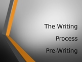 The Writing Process- PREWRITING PowerPoint