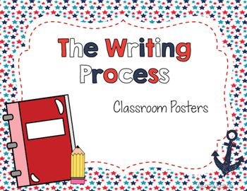 The Writing Process- Patriotic