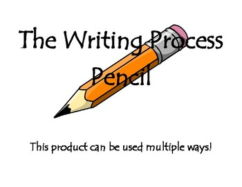 The Writing Process Pencil