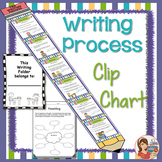 Writing Process Clip Chart (Giant Pencil)
