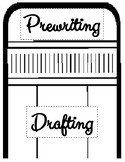 The Writing Process Pencil and Signs