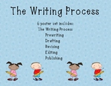 The Writing Process- Poster for each step