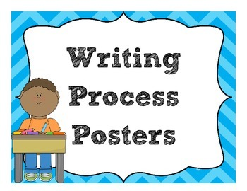 The Writing Process Posters