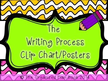 The Writing Process Posters (Clip Chart)
