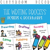 The Writing Process Posters and Bookmarks