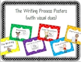 The Writing Process Posters (with visual clues)
