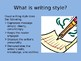 The Writing Process PowerPoint