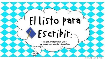 The Writing Process (Spanish Version)