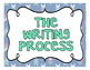 The Writing Process Steps (Blue and Grey)