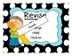 The Writing Process Steps Posters Polka Dot Theme
