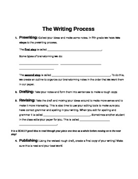 Year six Essay Writing Worksheets and Printables