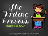 The Writing Process (bulletin board display)