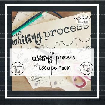 The Writing Process (mini) Escape Room