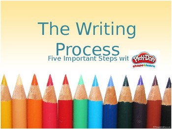 The Writing Process with Play Doh
