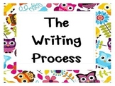 The Writing Process~Owls
