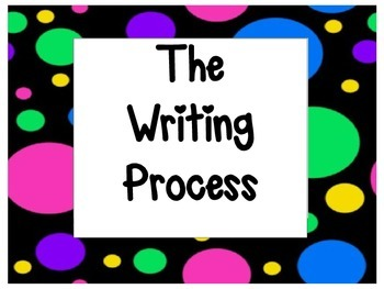 The Writing Process~Polka Dots