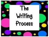 The Writing Process~Polka Dots