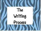 The Writing Process~Zebra Print
