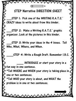 The Writing R.A.T.S. Get Creative with a Narrative Differentiated Writing Center