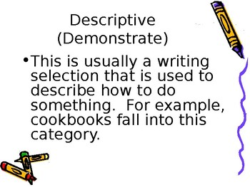 The Writing Styles Mini-lesson