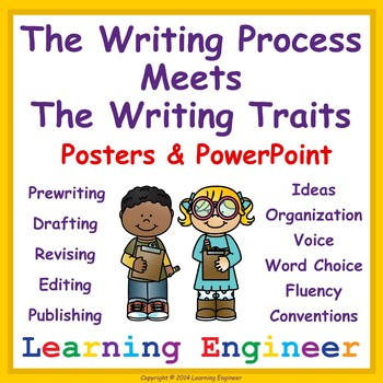 2nd Grade Writing Process Posters And PowerPoint