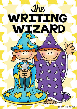 writing wizard packet of printables for wonderful writing by from the pond. Black Bedroom Furniture Sets. Home Design Ideas
