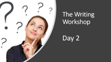 The Writing Workshop (complete daily lessons) - Volume 1