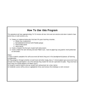 The X Files Developmental Multiplication Program
