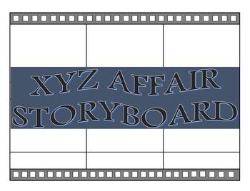 The XYZ Affair Storyboard Project