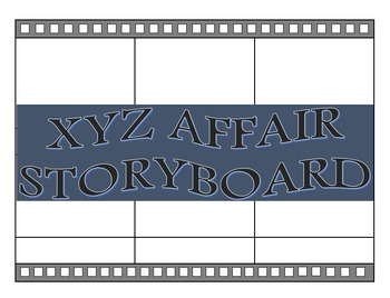 The XYZ Affair Storyboard Project