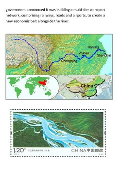 The Yangtze River Handout