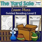 The Yard Sale by Janelle Cherrington, Level E, Guided Read