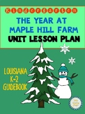 The Year at Maple Hill Farm Unit Lesson Plan for K-2 Louisiana Guidebook