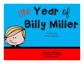 The Year of Billy Miller Ultimate Resource Pack