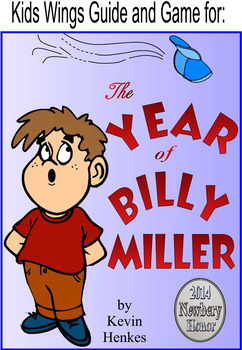 The Year of Billy Miller by Kevin Henkes, 2014 Newbery Honor Book