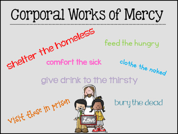 The Year of Mercy:  A Focus Year of Help to Others!