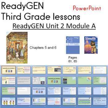 The Year of Miss Agnes ReadyGEN Third Grade Chapters 5 - 8