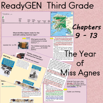 The Year of Miss Agnes ReadyGEN Third Grade Chapters 9 - 11