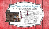 The Year of Miss Agnes Tri-fold Literature Study