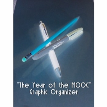 """""""The Year of The MOOC""""  Pros and Cons Graphic Organizer"""