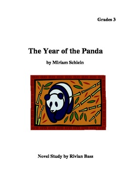 The Year of the Panda novel study