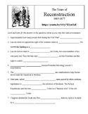 The Years of Reconstruction - Video Viewing Guide