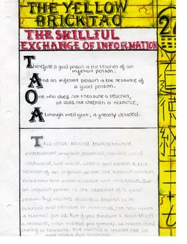 The Yellow Brick Dao; A Common Core Approach to the Tao Te Ching